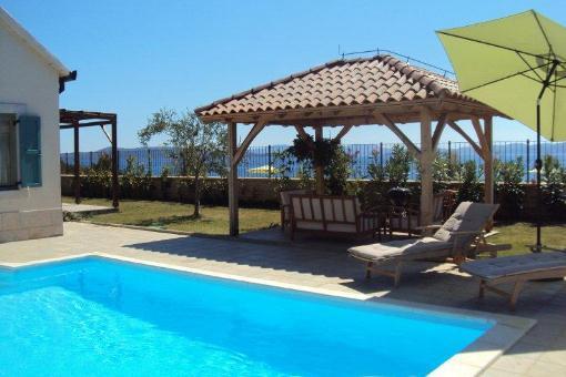 Traumhaus modern mit pool  house Ugljan - Modern Home with Balcony - Croatia property for sale