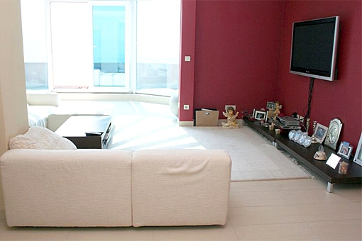 Windowfront in livingroom